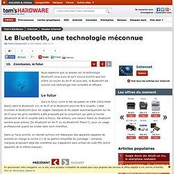 Conclusion, le futur : Le Bluetooth, une technologie méconnue