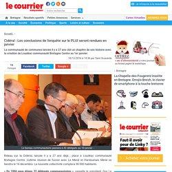 Cidéral : Les conclusions de l'enquête sur le PLUI seront rendues en janvier « Article « Le Courrier Indépendant