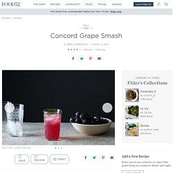Concord Grape Smash Recipe on Food52