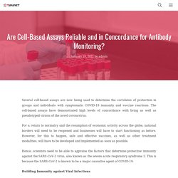 Are Cell-Based Assays Reliable and in Concordance for Antibody Monitoring?