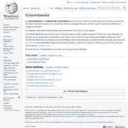 Concordancier