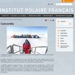 Concordia - Institut polaire Français