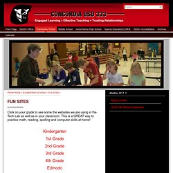 Concordia Kansas Public Schools - FUN SITES