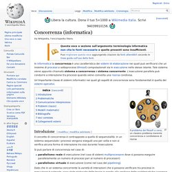 Concorrenza (informatica)