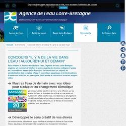 """Concours affiches et vidéos """"Il y a de la vie dans l'eau"""" - Agence - Agence de l'eau Loire-bretagne"""