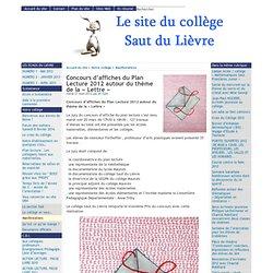 Concours d'affiches du Plan Lecture 2012 autour du thème de la « Lettre » - [ ]