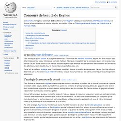 Concours de beauté de Keynes