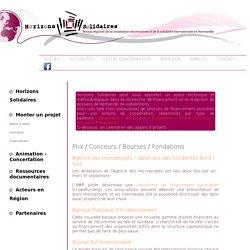 Prix / Concours / Bourses / Fondations