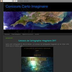Concours Carto Imaginaire