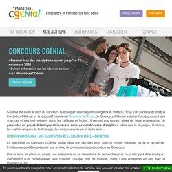 Concours CGénial - CGénial