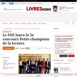 Le SNE lance le 5e concours Petits champions de la lecture