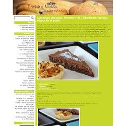 Concours chocolat : Recette n°15 : Gâteau au chocolat bicouche et pralin - Cooking Nadoo