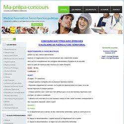 Concours de la fonction publique. Annales corrigées, dates des concours 2016, résultats concours.