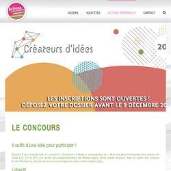 CONCOURS CRÉATEUR D'IDÉES