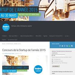 Concours de la Startup de l'année 2015