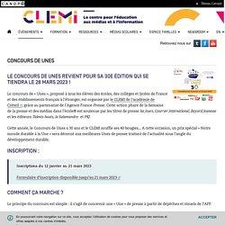 Concours de UNES- CLEMI