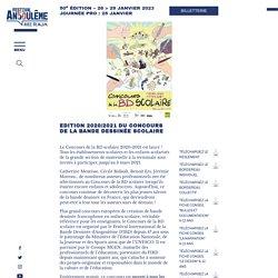 Edition 2020/2021 du Concours de la Bande Dessinée Scolaire
