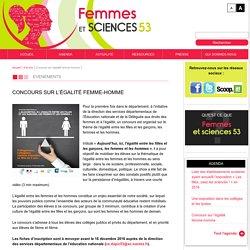 Concours sur l'égalité femme-homme