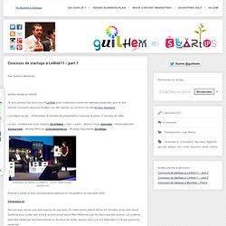 Concours de startups à LeWeb11 – part 1