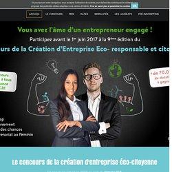 Le concours de la création d'entreprise éco-citoyenne