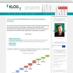 concours de la fonction publique territoriale - Éditions Klog