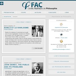 Concours - iFAC
