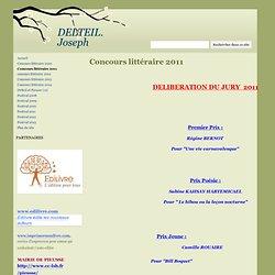 Concours littéraire 2011 - DELTEIL. Joseph