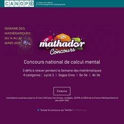 Concours Mathador : Semaine des Maths !