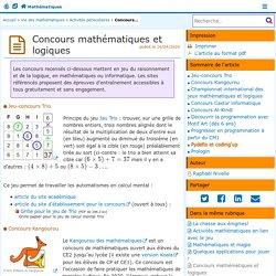 Concours mathématiques et logiques - Mathématiques