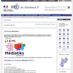 Concours Médiatiks