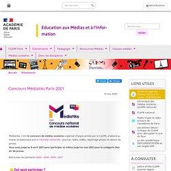 Concours Médiatiks Paris 2021