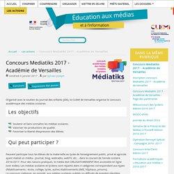 Concours Mediatiks 2017 - Académie de Versailles