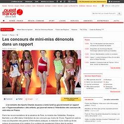 Les concours de mini-miss dénoncées dans un rapport - Faits de société