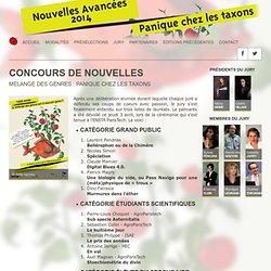 Concours de Nouvelles - Édition 2014