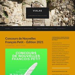 Concours de Nouvelles François Petit - Édition 2021 - Vialas
