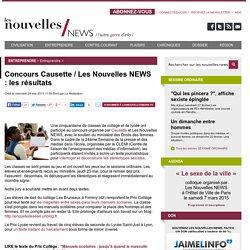 Concours Causette / Les Nouvelles NEWS : les résultats