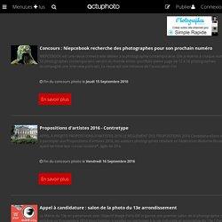 Concours Photo - Participez aux concours photo et images