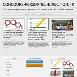 CONCOURS-PERSONNEL-DIRECTION.FR