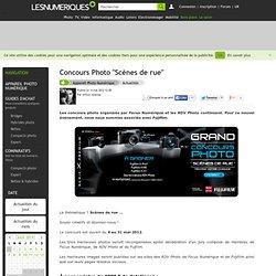 """Concours Photo """"Scènes de rue"""""""