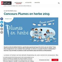 Concours Plumes en herbe 2019