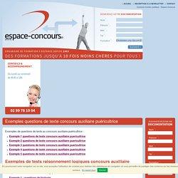 Concours et préparations examens : Espace Concours