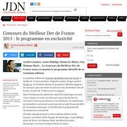 Qui sera le Meilleur Dev de France 2015 ?