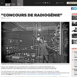 """""""Concours de radiogénie"""" - Presse RetroNews-BnF"""