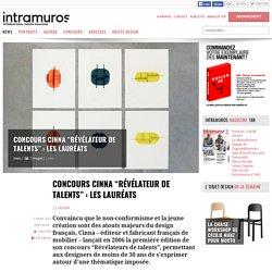 """Concours Cinna """"Révélateur de talents"""" : les lauréats - 03/03/17"""