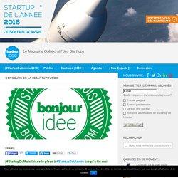 Concours permanent de la Start-Up du mois sur Bonjouridée - bonjour idée