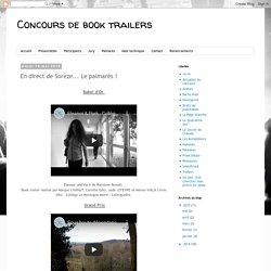 Concours de book trailers: En direct de Sorèze... Le palmarès !
