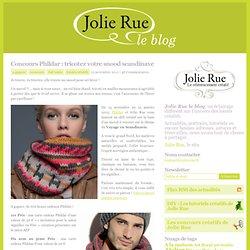Concours Phildar : tricotez votre snood scandinave