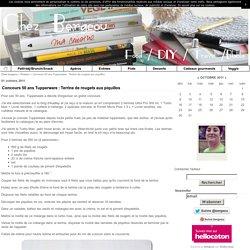 Concours 50 ans Tupperware : Terrine de rougets aux piquillos