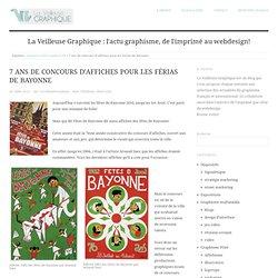 7 ans de concours d'affiches pour les Férias de Bayonne