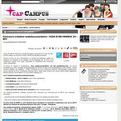 Concours création webdocumentaire : VISA D'OR FRANCE 24 - RFI